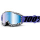 100% Accuri - Gafas enduro - Anti Fog Mirror Lens / blanco/negro